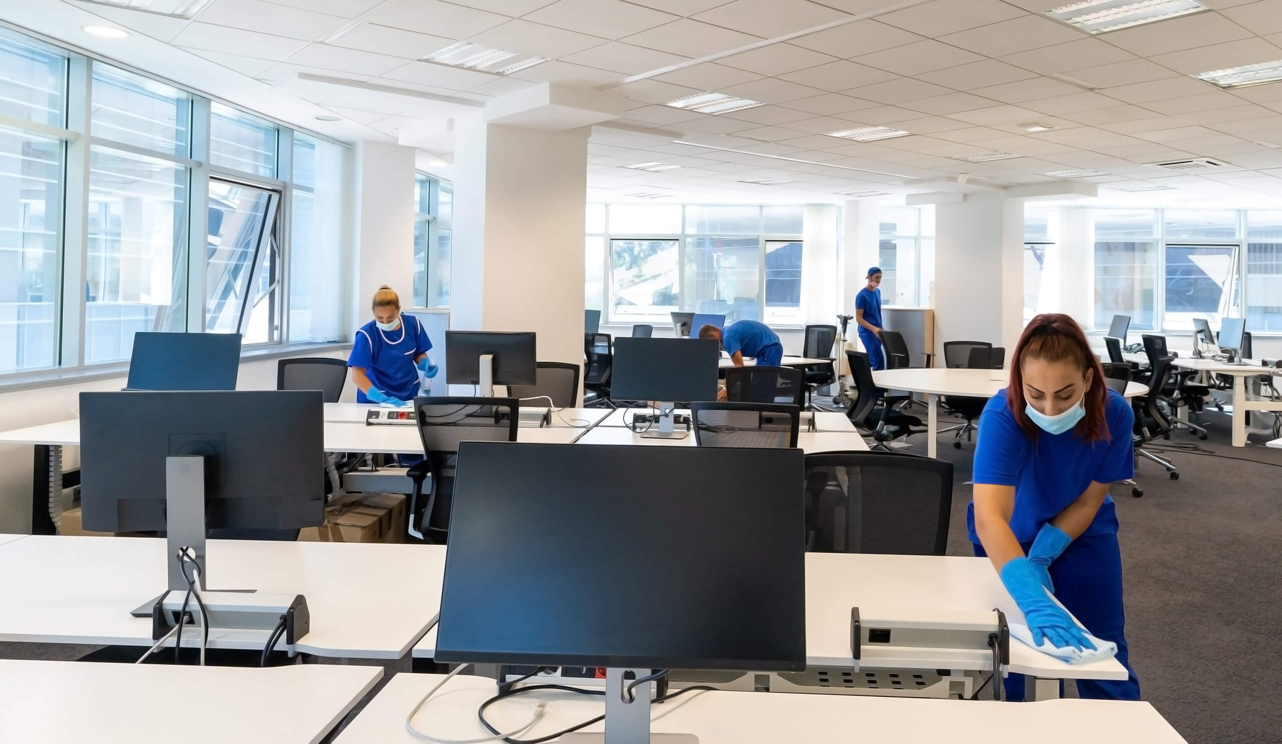 Clean and safe facilities maximize comfort, productivity and morale.